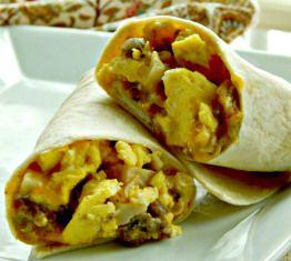 Green Chili Breakfast Burrito