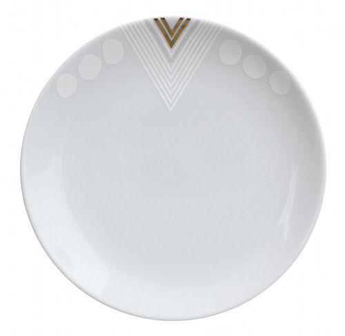 geometric platesFoxes Design, Dinner Plates, Design Decor, Design Sponge, Salad Plates, Art Deco, Alyson Foxes, Deco Plates, Foxes Plates