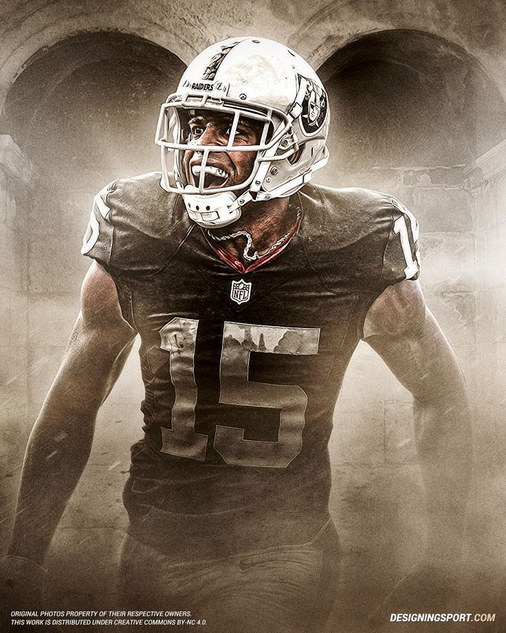 Designing Sport — Michael Crabtree, Oakland Raiders