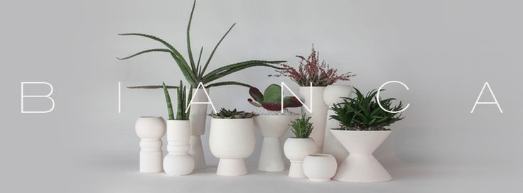 A curated selection of quality ceramic-based objects.  Vases, pots, small – furniture and light fixtures designed and produced by DECOVERY | essential details, make a harmonious ensemble of white matte ceramic ambiance.