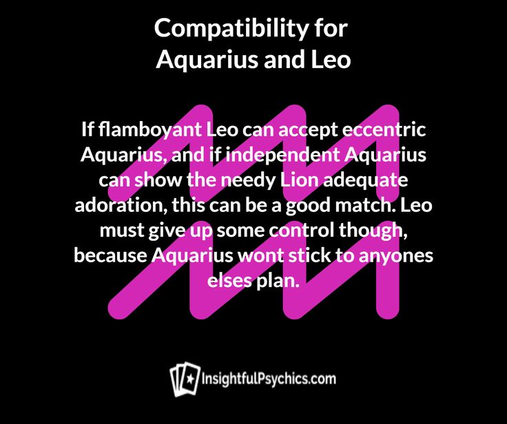 aquarius and leo sex
