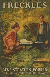 Published in 1904, Freckles has always been one of my favorite books.  It is the story of a young man, with the kind of heart and integrity I want to see in my boys.