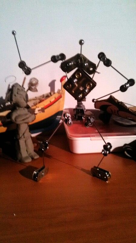 Stop motion armature Home Made