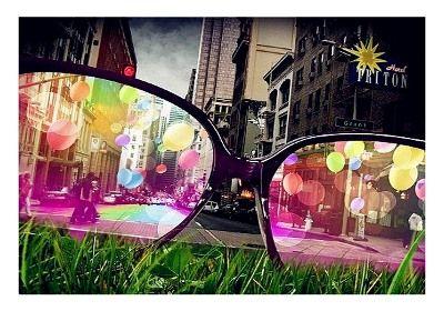 Boja stakla sunčanih naočara