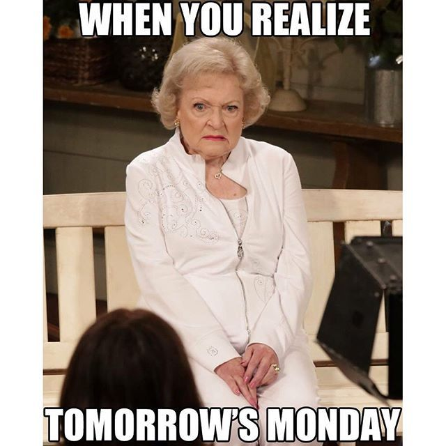 Instagram Image #evening #goodnight #meme #sunday #thought #whenyourealize #whenyourealizetomorrowismonday