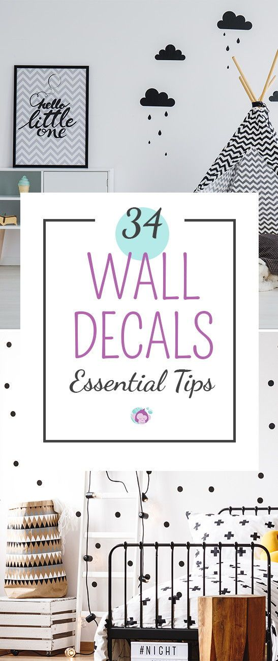 the ultimate wall decals guide - 34 essential tips | wall decals and