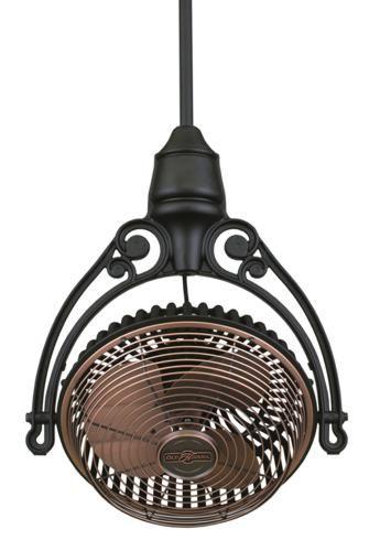 Fanimation Old Havana Ceiling Mount Ceiling Fan Model FPH210AC-FPH81BL in Antique Copper  $584.00
