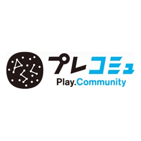 プレコミュのロゴ:ゲームらしさって | ロゴストック
