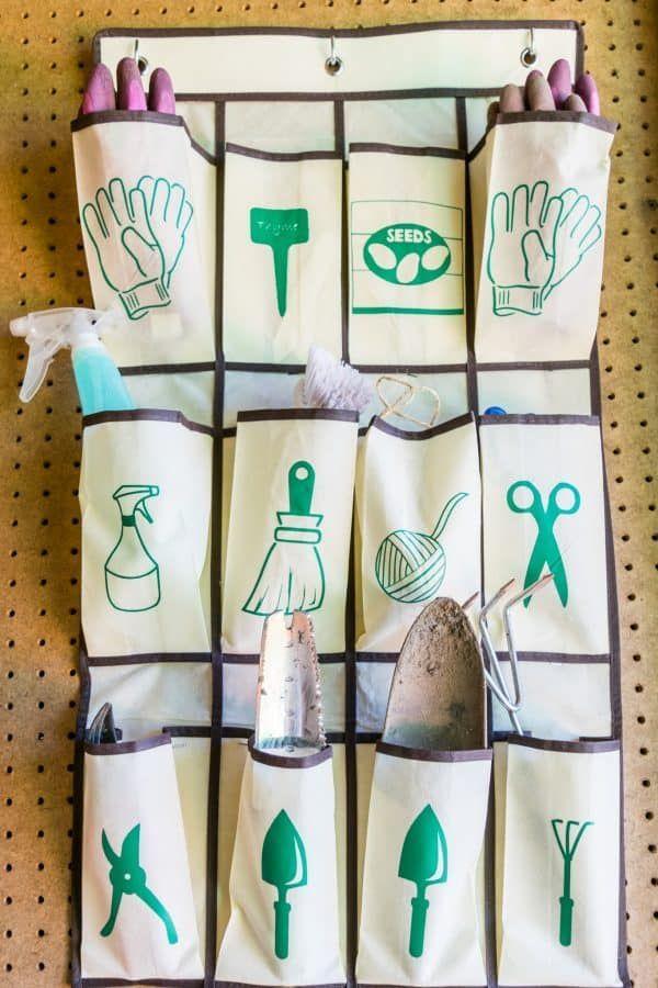 10 Genius Garden Tool Storage Ideas Gardeningtools Get Your Shed