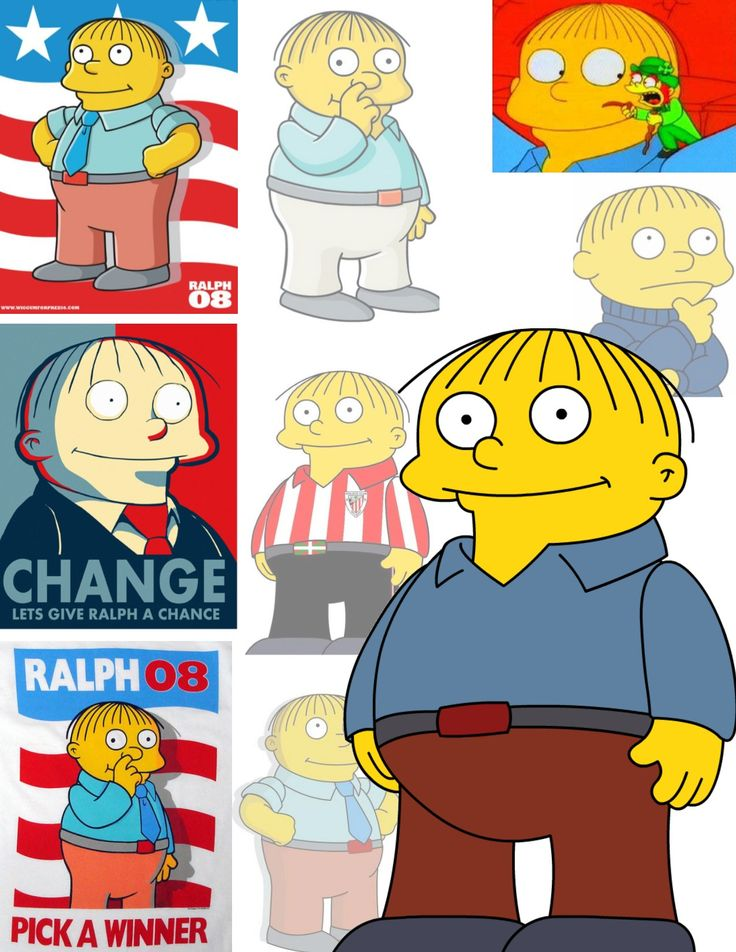 17 best images about wiggum on pinterest avatar gifs - Simpson ralph ...