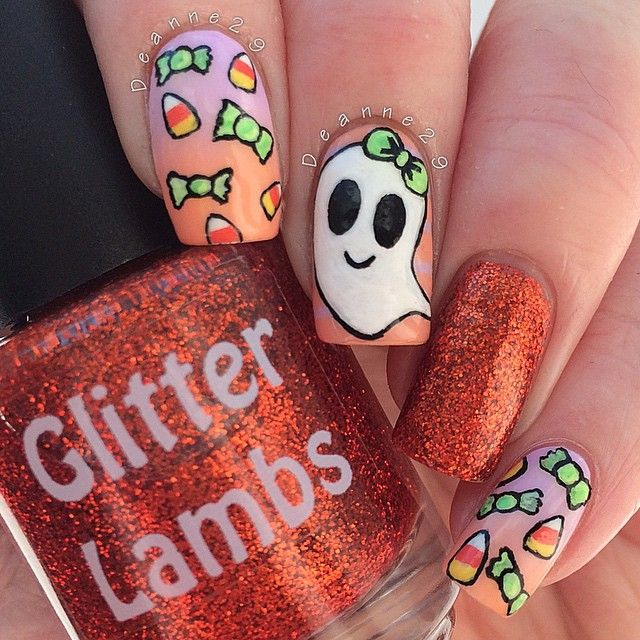 Instagram media by deanne29 - halloween #nail #nails #nailart