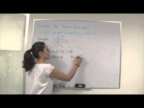 (1) Grupos de permutaciones - YouTube