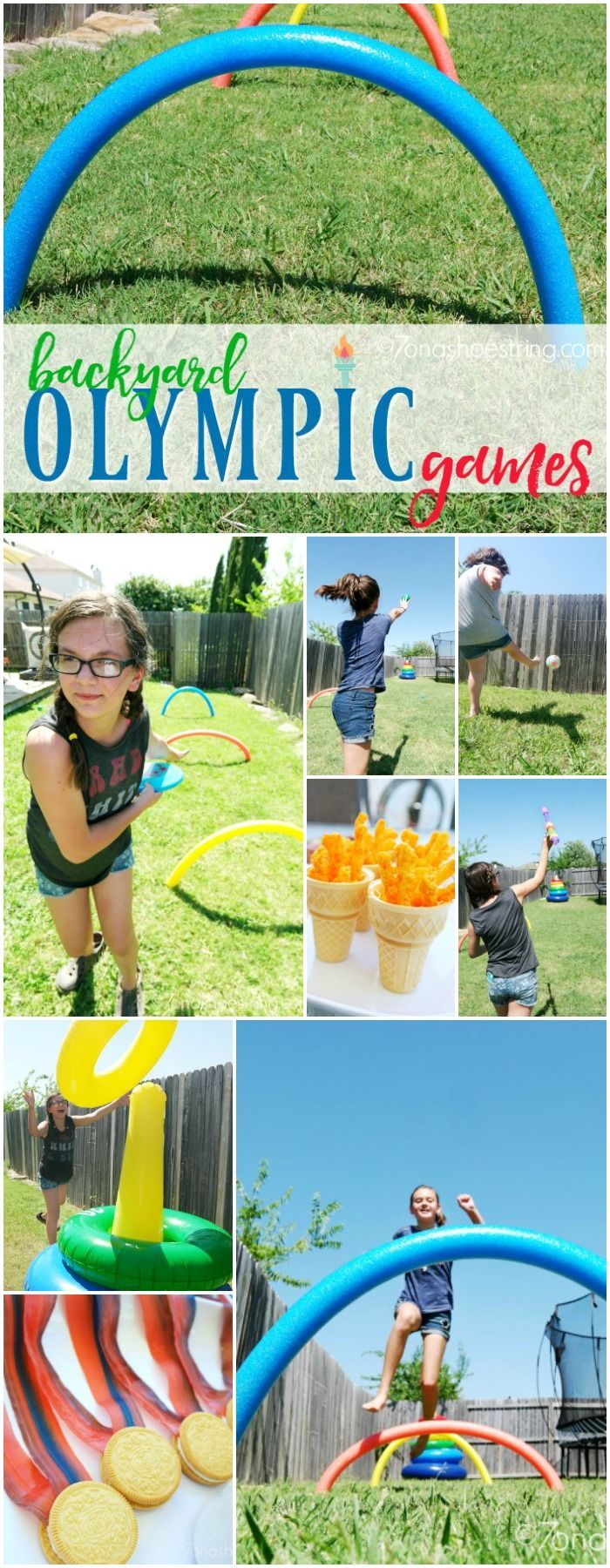 Backyard Olympic Games for Kids and Families