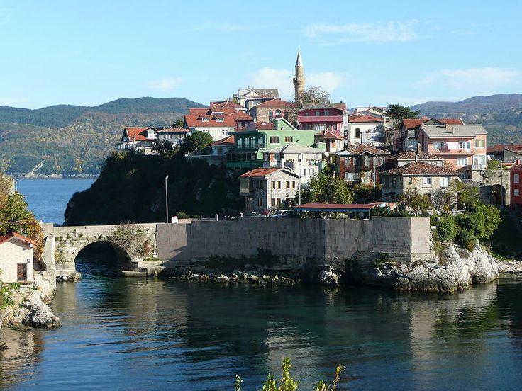 Amasra in the Black sea region of Turkey