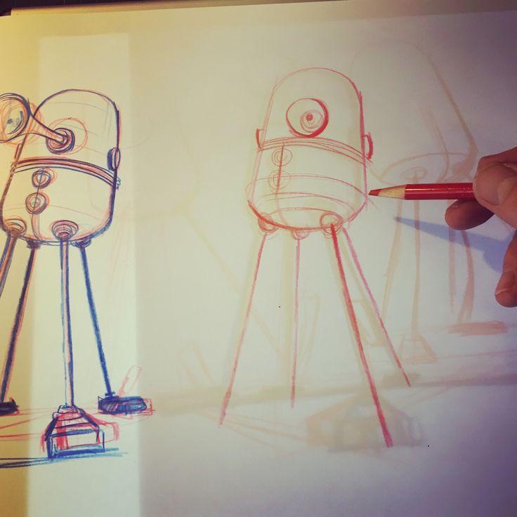 Jim Field is a lead driven, pencil pushing, 12 volt DC enhanced, 25 frames per second, illustrator...