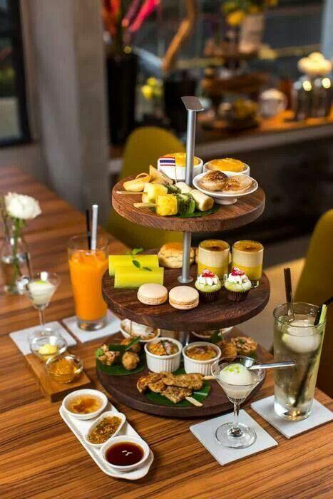 Thai style hi tea buffet (photo from TRAVELER luxe)