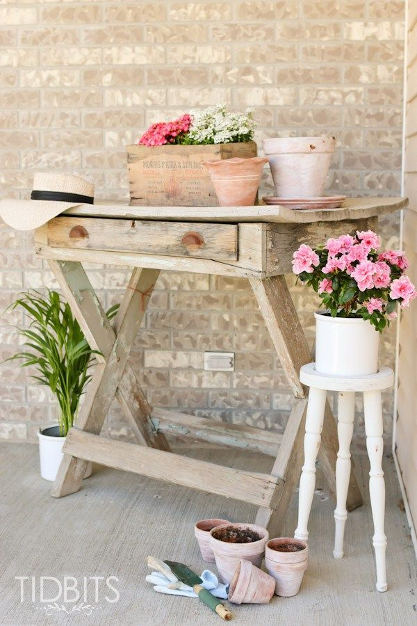 Thrift Store Plant Stand Makeover Amazing Diy Projects