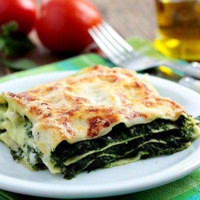 Spenótos lasagne egyszerűen és gyorsan Isteni finom recept