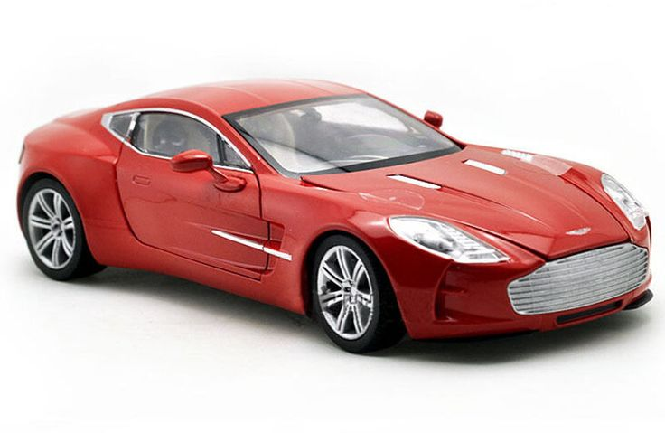 Aston Martin one77 Vehicles 1/24 Red Alloy Diecast Car
