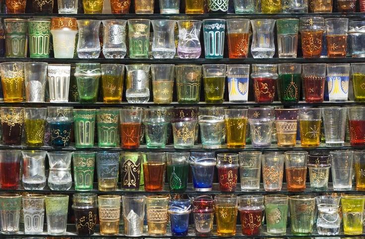 beautiful Arab tea glasses collection