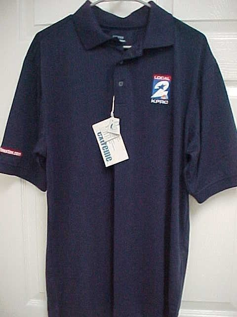 KPRC Channel 2 Local Houston News Men Short Sleeve Polo Shirt M Extreme New Tags #Extreme #PoloRugby