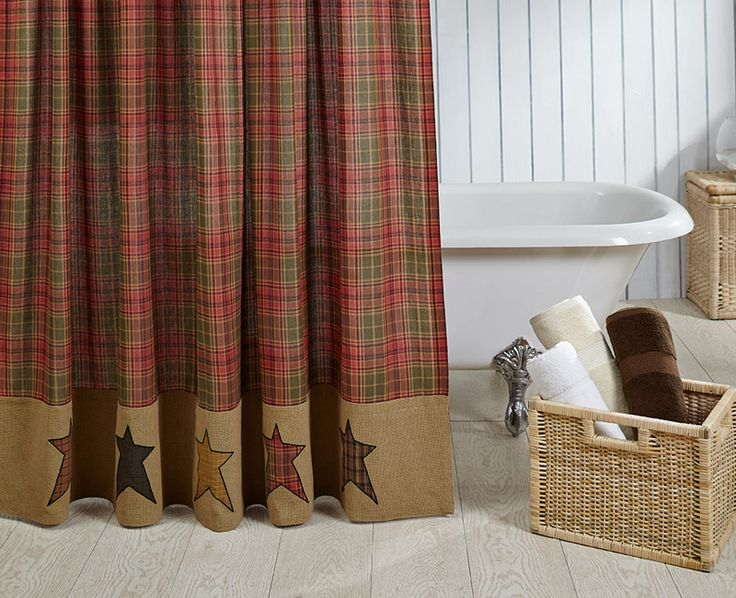From The Country Porch The Stratton Shower Curtain 72 X