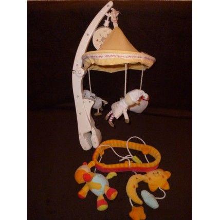 Babysun Baby Sun 2 Mobiles De Voyage Pour Lit Parapluie Baby Sun Et Bébé Confort