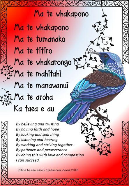 thetereomāoriclassroom: Te Reo, Whakataukii and Growth Mindset