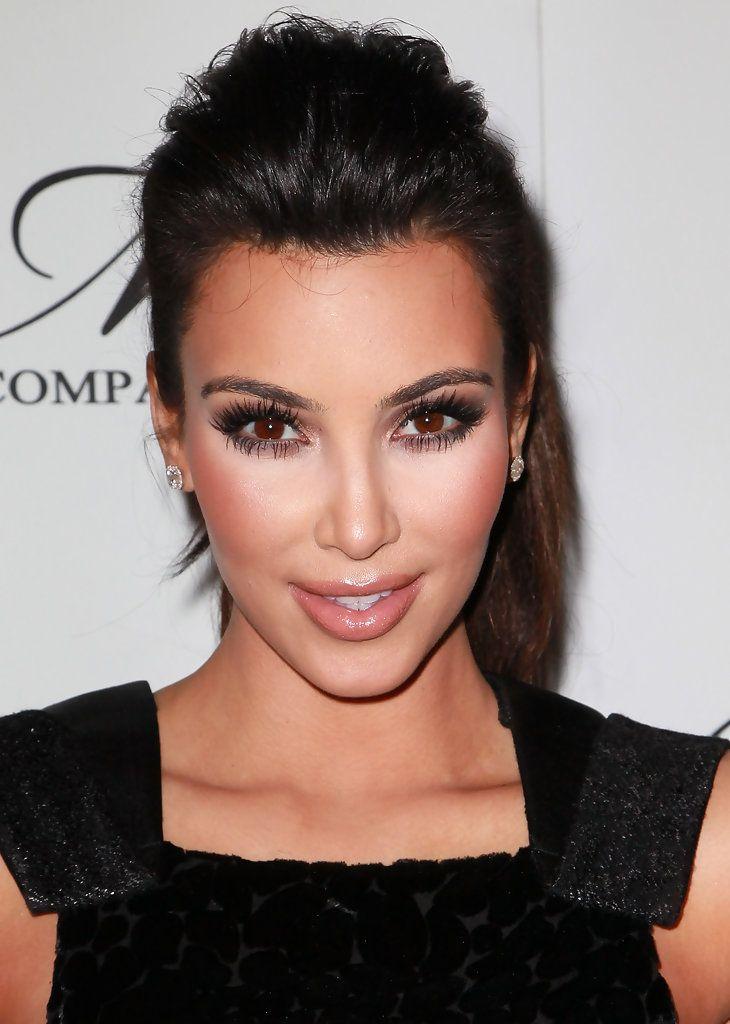 Kim Kardashian Nude Lipstick - Kim Kardashian Beauty - StyleBistro