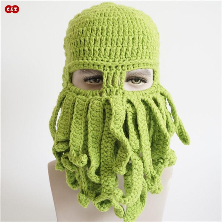 $7.35 (Buy here: https://alitems.com/g/1e8d114494ebda23ff8b16525dc3e8/?i=5&ulp=https%3A%2F%2Fwww.aliexpress.com%2Fitem%2FC-Z-Handmade-Knitted-caps-cute-novely-Octopus-beard-Child-hats-winter-fancy-earflap-neckerchief-skullies%2F32771289499.html ) C&Z Handmade Knitted toy animal caps novely Octopus beard Child hats winter fancy earflap neckerchief skullies Balaclava for just $7.35