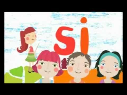 13- Formando sílabas - chile crece contigo - Canción para estimular el l...
