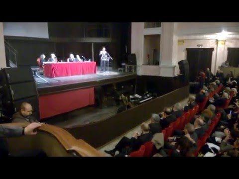 #Sassari, al Verdi premio #Nobel pace tunisino con @NicolaSanna2 - YouTube