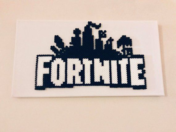 Fortnite Perler Canvas Perler Beads Hama Beads Patterns Pearler Bead Patterns