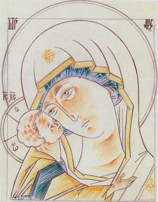 книга : Прориси иконы