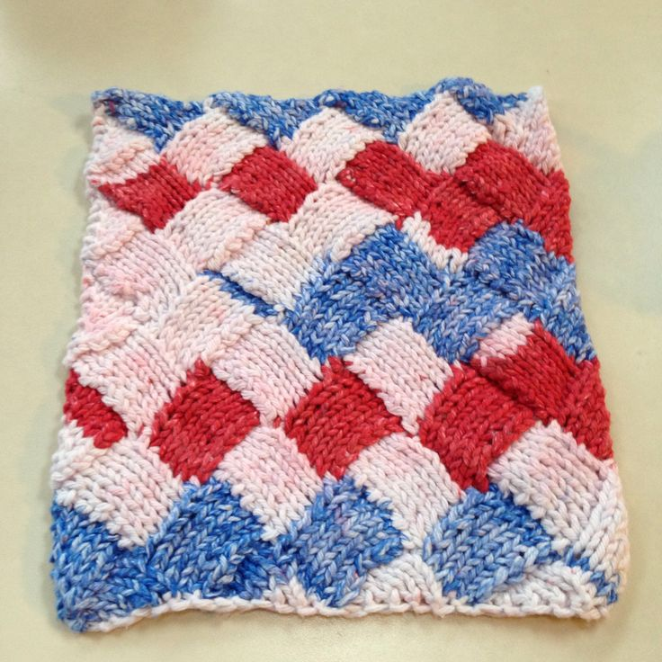 Entrelac Knitting Dishcloth Pattern : 301 Moved Permanently