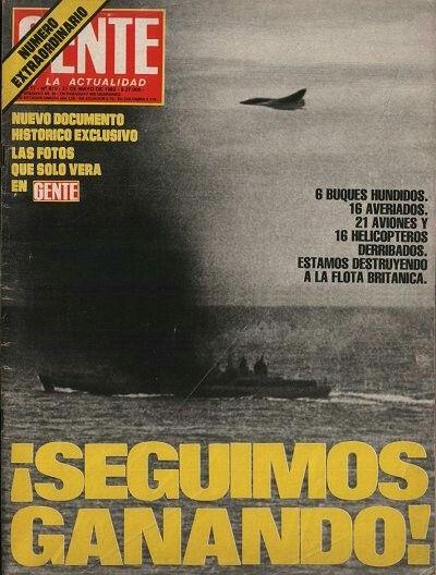 2° tapa de la Revista Gente (1982)