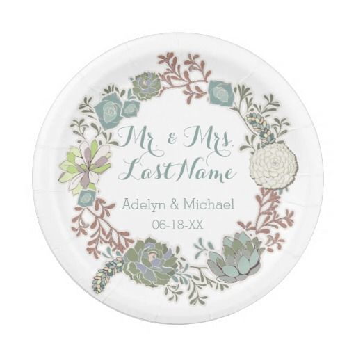 Best 25+ Wedding paper plates ideas on Pinterest ...