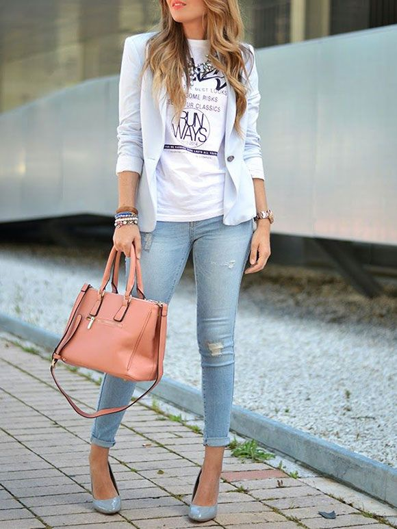 Fashion Fix: Lichtblauwe jeans - My Simply Special