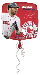 18'' Dustin Pedroia Foil Balloons (Pack of 5)
