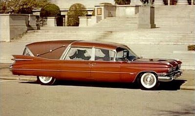 1959 Cadillac hearse by Superior Coach Company