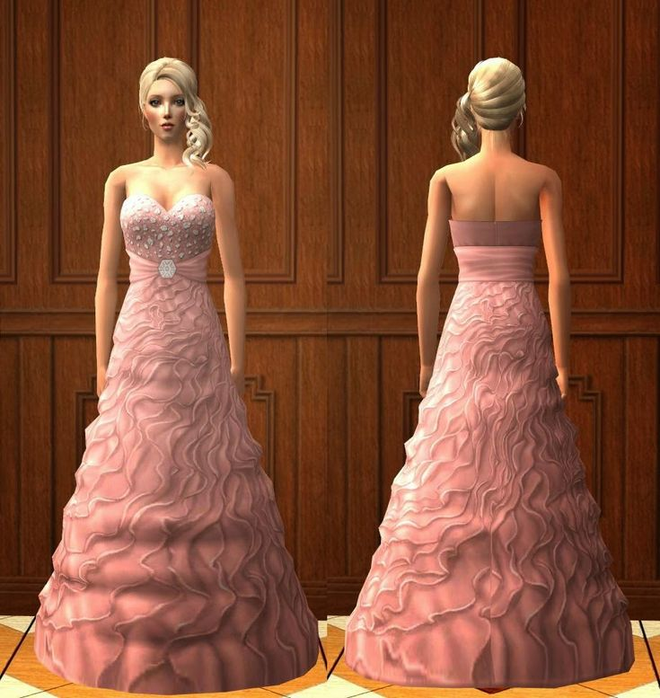 Evening dress sims 3 9th