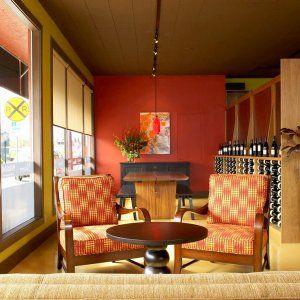 Merlot Red paint from Benjamin Moore  JS Design  Build