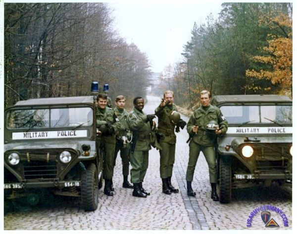 Military Police | Military Police in 1973 in Germany with the Police...