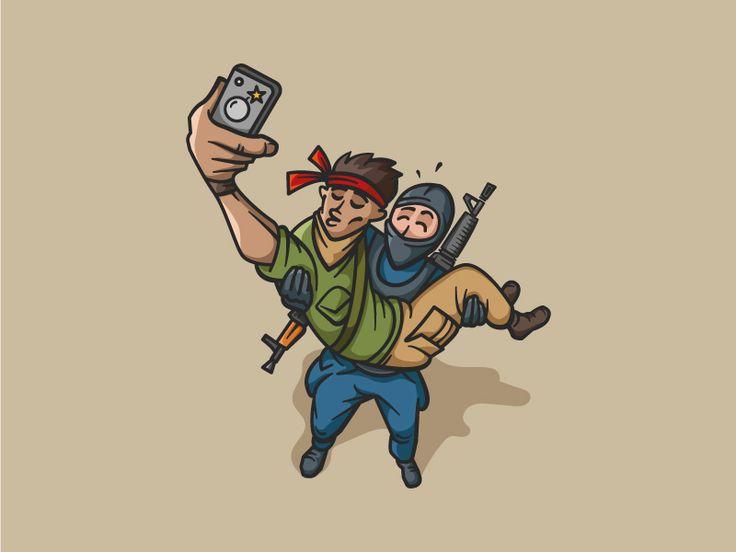 Selfie by Gendarme