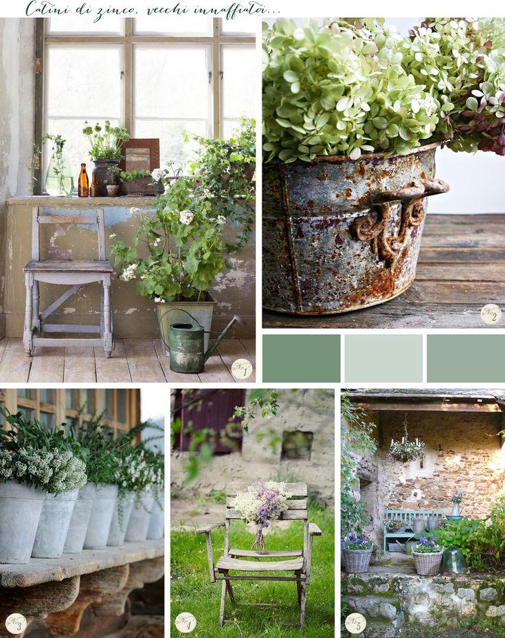 Ispirazioni per un giardino shabby chic