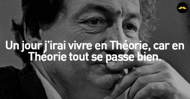 13 citations marquantes signées Mr.Desproges... Entre finesse et humour noir !                                                                                                                                                                                 Plus