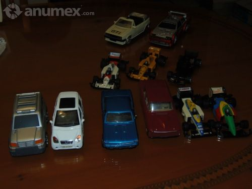 Lote de carros a escala y formula uno