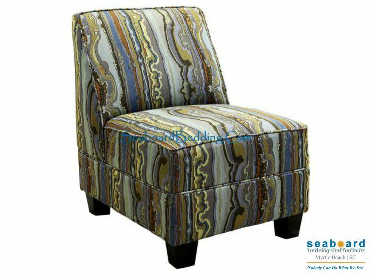 Florence Jasmine Armless Chair Serta Accent Chairs