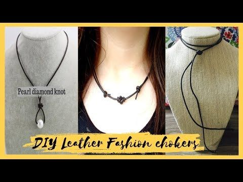 Diy Chokers Necklace How To Make Your Own Leather Chokers