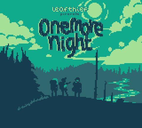 "Stefan Srb on Twitter: """"Onemore night"" my #gbjam #pixelart #visualnovel now has a title screen http://t.co/GePfIJmbBN"""